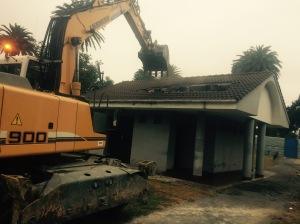 Trabajos de demolición Bernardo y Ovalle en Gijón