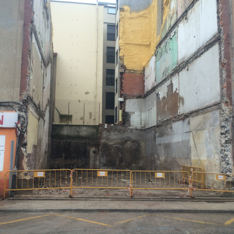 Después demolición